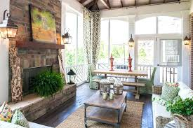 screen porch fireplace full size of screened in with gas for outdoor porches fireplaces brick