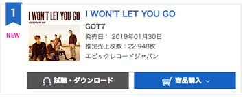 Oricon Music Chart Got7 Soars To Top Of Oricons Daily Albums Chart With New