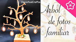 Arbol Genealogico Creativo Como Hacer Un Portaretrato Familiar Arbol Genealogico De Fotos Decoandcrafts
