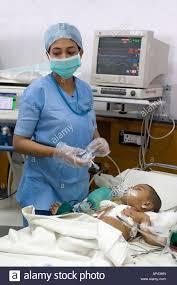 Picu Nurse Nurses Work In The Pediatric Intensive Care Unit Picu Of