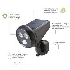 Solar Powered Motion Detector Security Lights Tamproad Outdoor Wireless Solar Powered Motion Sensor Detection Led Security Light Weatherproof Spotlight Wall Night Lamp