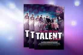 High School Talent Show Colonfilm Graphic Design