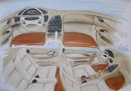 car interior sketch. Contemporary Car Car Interior Design Sketch By Popgrafix  On