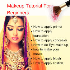 makeup tutorial for beginners step by step guide
