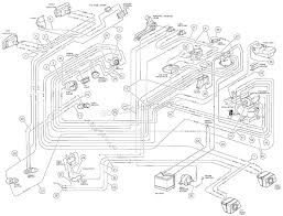 2001 club car wiring diagram lorestan info rh lorestan info 2001 club car starter wiring diagram