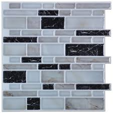 Kitchen Stick On Backsplash Vinyl Peel And Stick Tile 3d Backsplash Stickers Peel Stick