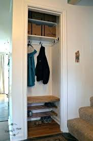 entryway organization ideas coat closet towel racks small organi coat closet organization organized small hallway