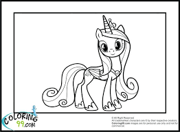 My Little Pony Coloring Pages Fluttershy My Little Pony Coloring