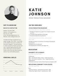 Theater Resume Template Adorable Beige Modern Theatre Resume Templates By Canva