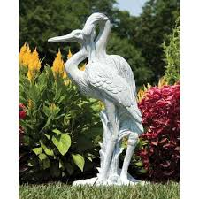peaceful garden statuary