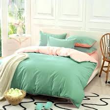 pale green king size duvet cover custom solid color bedding set green 50 silk satin sets