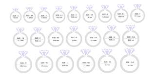 Womens Ring Size Chart Cm Size Charts How To Measure The Correct Size Of Jewellery