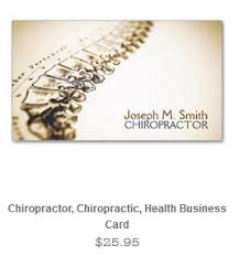 Chiropractic Business Cards Ideas