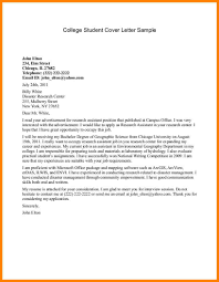 Best Ideas of Example Of A Cover Letter For College Application ...