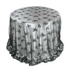 tap to expand white lace round tablecloth australia black overlay inches p white lace round tablecloth