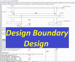 Rcc Column Design Ppt Design Of Boundary Wall Spreadsheet Civil Engineering Program