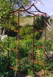 Small Picture Wrought iron garden ironwork arches and gazebos for the home and