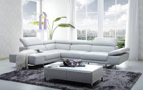 modern italian leather sofa. Wonderful Sofa CADO Modern Furniture  1717 Italian Leather Sectional Sofa With I
