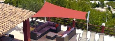 outdoor sails shade