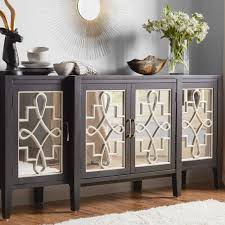 distressed mirrored furniture. Inspiration About Distressed Buffet Sideboard Elegant And Furniture Mirrored Throughout Newest Sideboards ( A