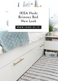 ikea brimnes bed. Ikea Brimnes Bed Hack Queen With Storage Drawers