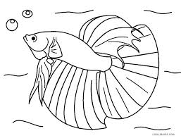 Cute Fish Coloring Pages Klubfogyas
