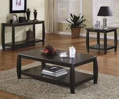 tables for living rooms astonishing modern design small black stained finish rectangle wooden lower shelf feature images