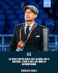 Goal Italia - Combattente in campo, combattente nella vita 🙏 Gianluca  Vialli racconta la sua malattia 👏