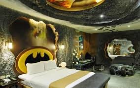 Image of: Amazing Unique Batman Bedroom Ideas