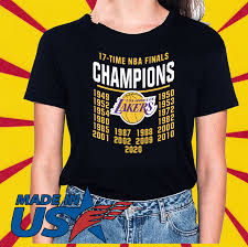 Defense from cody bellinger, mookie betts and los angeles bringing home a championship lead the dodgers' top 5 moments of 2020. 17 Time Nba Finals Champions Los Angeles Lakers Shirt Sweater Hoodie And Long Sleeved Ladies Tank Top
