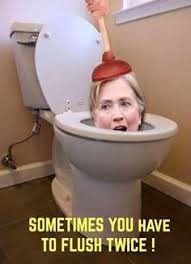 Image result for clinton foundation toilet