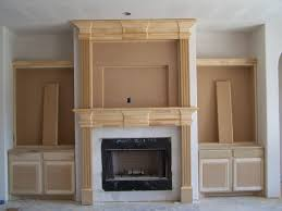 amazing gas fireplace mantel ideas to warm your winter time attractive custom built light cream