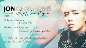 Shinee France Jonghyun Kim Jonghyun