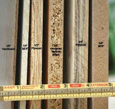 cabinet material thickness comparison