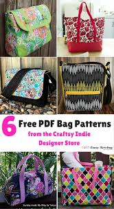 6 Free PDF Bag Patterns from the Craftsy Indie Designer Store ... & 6 Free PDF Bag Patterns from the Craftsy Indie Designer Store Adamdwight.com