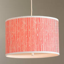 drum shade pendant lighting. waterfall drum shade pendant light lighting