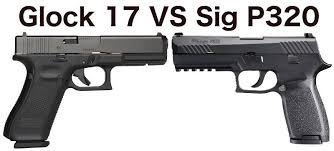 Glock Size Chart Glock 17 Vs Sig P320 With Pictures Clinger Holsters