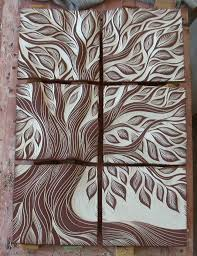 ceramic tile art tree. Plain Tree Handmade Ceramic Wall Art Tile By Natalie Blake Studios   Microcemento Pinterest Wandschmuck Tpferei Und Kunstunterricht To Ceramic Tile Art Tree A