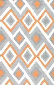 comfortable grey and orange rug for radiante bc62 orange rug contemporary rugs rugsusa 39 black grey