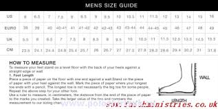 Tommy Hilfiger Size Chart Us Tommy Hilfiger Size Chart Shoes Bedowntowndaytona Com