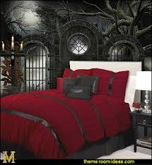 Gothic Bedroom Decorating Ideas gothic wall murals