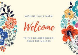 Welcome Card Templates Welcome Card Template Magdalene Project Org