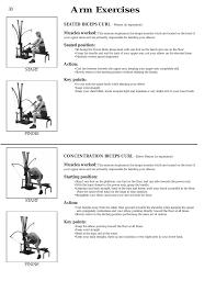 Arm Exercises Bowflex Xtl User Manual Page 40 80