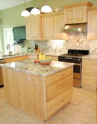 Kitchen Colors With Natural Maple Cabinets lighting light maple