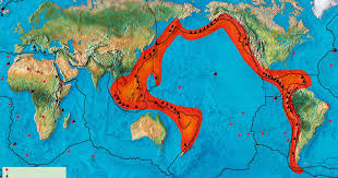 what is the pacific ring of fire the facts causes and countries affected mirror
