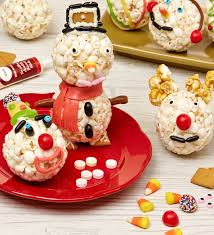 Decorated Popcorn Balls