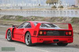 1990 ferrari f40 for sale £949,950 the ferrari f40 was announced in the summer of 1987 as the ultimate supercar of its generation. 1990 Ferrari F40 For Sale 2483817 Hemmings Motor News