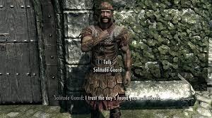 Skyrim Guard Quotes Beauteous The Elder Scrolls V Skyrim GAME MOD Guard Dialogue Overhaul V48848