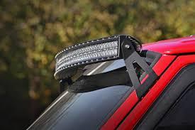 Dodge Dakota Light Bar Mounts Upper Windshield Led Light Bar Mounts Rough Country Jeep Cherokee Xj