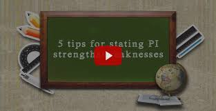 5 Strengths And Weaknesses Strengths And Weaknesses Interview Question Strengths And